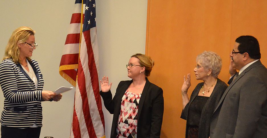 2017 CCWD Directors Take Oath of Office